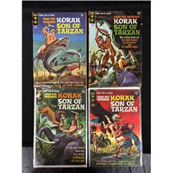 KORAK SON OF TARZAN COMIC BOOK LOT (GOLD KEY)