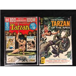 TARZAN & TARZAN OF THE APES COMIC BOOK LOT