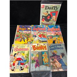 MIXED COMIC BOOK LOT (JUGHEAD, DAFFY, DENNIS THE MENACE & MORE)
