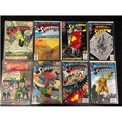 SUPERMAN COMIC BOOK LOT (DC COMICS) #279, 21, 75 & MORE