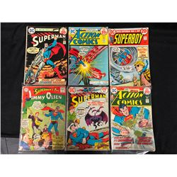 DC COMIC BOOK LOT (SUPERMAN, ACTION COMICS, SUPERBOY, JIMMY OLSEN)