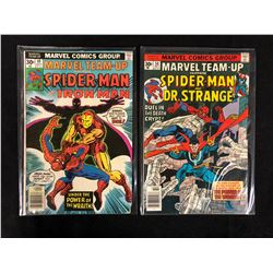 MARVEL COMIC BOOK LOT (SPIDER-MAN #49, SPIDER-MAN #50)