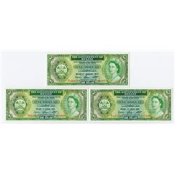 Government of Belize, 1974 & 1975 Banknote Pair.