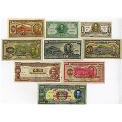 Banco Central De Bolivia, 1928 Waterlow Issues & 1945 TDLR Banknote Issues