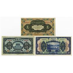 Foreign and Provincial Banknote Assortment, ca.1917 to 1949 Issues From Various Banks.