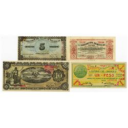 Mexico Revolutionary Banknote Issues Assortment, ca.1913-1916.