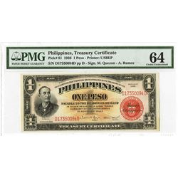 Philippines, 1936, Issued Treasury Certificate