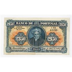 Banco de Portugal, 1922, Issued Note.