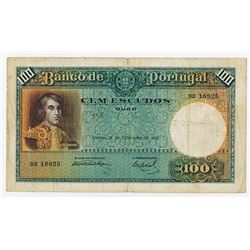 Banco de Portugal, 1935, Issued Note.