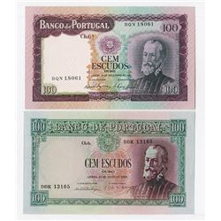 Banco de Portugal, 1954-1961, Issued Pair.
