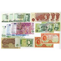 Bank of England, Royal Bank of Scotland, & others, 1948-2000. Group of 15 Banknotes.