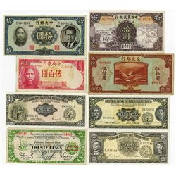 Worldwide Banknote Assortment, ca.1940-1970's.