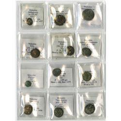 Greece Ancient Coin Group of 12, ca.357 BC to 149 BC.