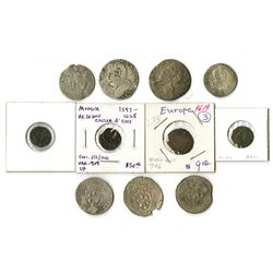Italy, 1597-1628, Group of Early Coins issued under Duke Cesare d'Este of Modena.