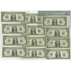 Federal Reserve Notes. Group of 25 Atlanta District Star Notes.