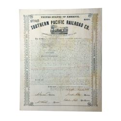 Southern Pacific Rail Road Co., 1856 Issued and Uncancelled Bond