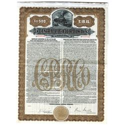 Central Pacific Railway Co., 1911 Issued Bond