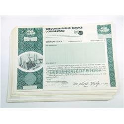 Scripophily Group of 43 Specimen Electric and Public Utilities Stock and Bond Certificates, ca.1960-