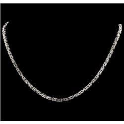 14KT White Gold Ladies Necklace