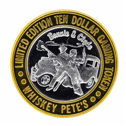 .999 Silver Whiskey Pete's Casino Primm, Nevada $10 Limited Edition Gaming Token