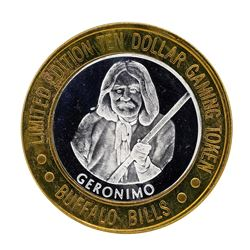 .999 Silver Buffalo Bills Resort & Casino $10 Limited Edition Gaming Token