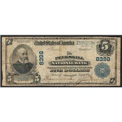 1902 $5 The Peekskill National Bank Note CH# 8398
