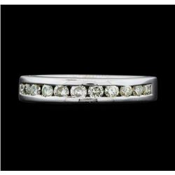 14KT White Gold Ladies 0.50 ctw Diamond Ring