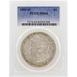 1901-O $1 Morgan Silver Dollar Coin PCGS MS64