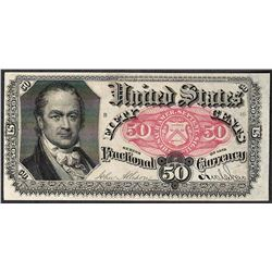 1874 Fifty Cents Fifth Issue Fractional Currency Note