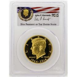2014-W Kennedy 50th Anniversary First Strike Half Dollar Gold Coin PCGS PR69DCAM