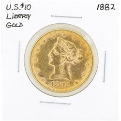 1882 $10 Liberty Head Eagle Gold Coin