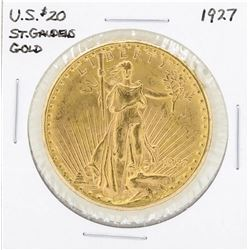 1927 $20 St. Gaudens Double Eagle Gold Coin