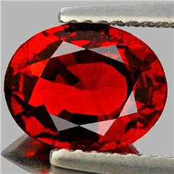 Natural Deep Red Spessartite Garnet 2.35 Ct- VVS