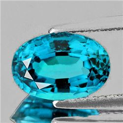 Natural AAA Blue Zircon 2.52 Ct - Flawless