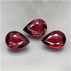 Natural Cherry Pink Rhodolite Garnet 7x5 MM