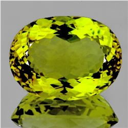 Natural Green Gold Lemon Quartz 71.25 Cts - FL