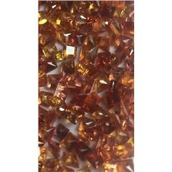 Natural Intense Orange/Red Sapphire 33.15 Cts -VVS