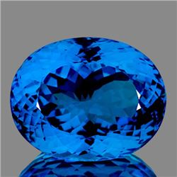 Natural Swiss Blue Topaz 30.86 Carats - FL - Certified