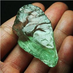 Natural Green Amethyst Rough 160 Carats