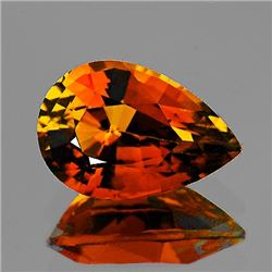 Natural AAA Vivid Orange Tourmaline 1.40 Ct - Flawless