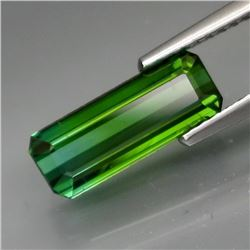 Natural Bluish Green Tourmaline 2.05 Ct