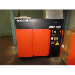 50 HP Rotary Vane Air Compressor by Mattei, Model EMS 500