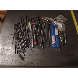 Lot of Misc Carbide Tools