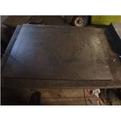 "1.5"" Thick Steel Plate, App 26"" x 35"""