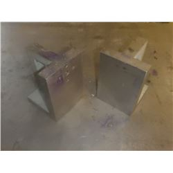 "Pair of 6"" x 4"" Angle Plates"