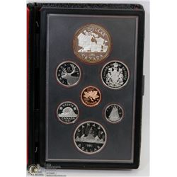 1981 CANADIAN DOUBLE DOLLAR 7 COIN PROOF SET