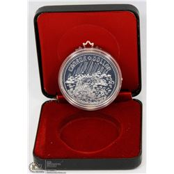 1980 CANADIAN PROOF SILVER DOLLAR IN DISPLAY