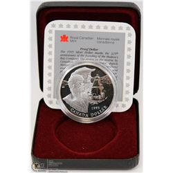1995 CANADIAN PROOF SILVER DOLLAR IN DISPLAY