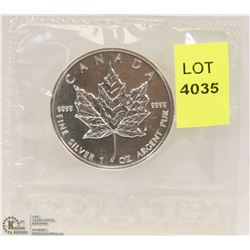 1999 CANADIAN 1-OZ FINE SILVER $5 COIN