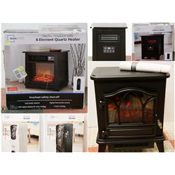 FEATURED ITEMS: ELECTRIC FIREPLACES AND HEATERS!
